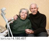 Счастливые пенсионеры. Стоковое фото, фотограф Николай Комаровский / Фотобанк Лори