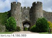 Средневековый замок (2012 год). Стоковое фото, фотограф Татьяна Фелпс / Фотобанк Лори