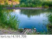 Берег реки Урал. Стоковое фото, фотограф Denis Ganshin / Фотобанк Лори