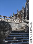 Замок тамплиеров, г. Томар, Португалия (2012 год). Стоковое фото, фотограф Елена Бут / Фотобанк Лори