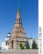 Башня Сююмбике в Казани (2011 год). Стоковое фото, фотограф Виктория Резниченко / Фотобанк Лори