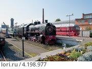 Купить «Паровоз СО-17 музее железнодорожного транспорта. Санкт-Петербург», фото № 4198977, снято 12 сентября 2012 г. (c) Виктор Карасев / Фотобанк Лори