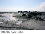 Грязевой вулкан в Азербайджане (2012 год). Стоковое фото, фотограф Светлана Першенкова / Фотобанк Лори