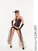 Купить «Девушка в эротическом наряде», фото № 4206897, снято 12 января 2013 г. (c) Литвяк Игорь / Фотобанк Лори
