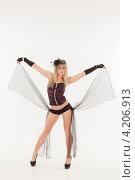 Купить «Девушка в эротическом наряде», фото № 4206913, снято 12 января 2013 г. (c) Литвяк Игорь / Фотобанк Лори