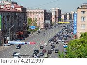 Купить «Ленинский проспект, Москва», эксклюзивное фото № 4212997, снято 12 мая 2010 г. (c) lana1501 / Фотобанк Лори