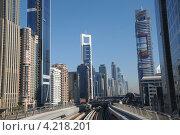 Небоскребы Дубая (2013 год). Редакционное фото, фотограф Василий Клинов / Фотобанк Лори