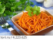 Морковь по-корейски. Стоковое фото, фотограф Александр Курлович / Фотобанк Лори