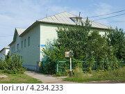 Здание электосетей в городе Кимовске Тульской области (2012 год). Стоковое фото, фотограф Малышев Андрей / Фотобанк Лори