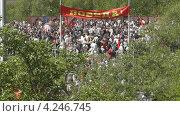 Купить «Люди на День Победы. Калининград», видеоролик № 4246745, снято 9 мая 2011 г. (c) Сергей Куров / Фотобанк Лори