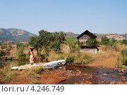 Индия рядом с Пуной. Стоковое фото, фотограф Семенова Татьяна Ивановна / Фотобанк Лори