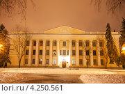 Купить «Краеведческий музей города Тамбова», фото № 4250561, снято 1 февраля 2013 г. (c) Карелин Д.А. / Фотобанк Лори
