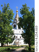 Иоанно-Богословский монастырь в Рязанской области. Стоковое фото, фотограф Николай Овечко / Фотобанк Лори
