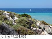 Купить «Побережье Средиземного моря», фото № 4261053, снято 28 июня 2012 г. (c) Stockphoto / Фотобанк Лори