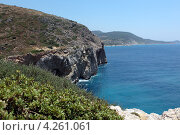 Купить «Побережье Средиземного моря», фото № 4261061, снято 28 июня 2012 г. (c) Stockphoto / Фотобанк Лори