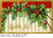 Купить «Иностранная открытка. До 1935 г.», иллюстрация № 4262277 (c) Копылова Ольга Васильевна / Фотобанк Лори