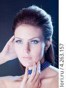 Портрет красивой молодой женщины. Стоковое фото, фотограф Верстова Арина / Фотобанк Лори