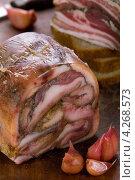 Купить «Свиные уши в желе», эксклюзивное фото № 4268573, снято 18 января 2013 г. (c) Александр Курлович / Фотобанк Лори