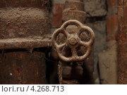 Купить «Ржавые трубы канализация и водопровод», фото № 4268713, снято 2 сентября 2011 г. (c) макаров виктор / Фотобанк Лори