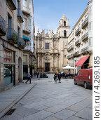 Купить «Церковь Santa Eufemia в городе Оренсе. Испания», эксклюзивное фото № 4269185, снято 26 сентября 2012 г. (c) Владимир Чинин / Фотобанк Лори