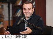 Купить «Писатель-сатирик Виктор Шендерович», фото № 4269529, снято 7 февраля 2013 г. (c) Александр Тарасенков / Фотобанк Лори