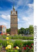 Ворота Кропелинер. Росток, Германия (2011 год). Стоковое фото, фотограф Andrei Nekrassov / Фотобанк Лори