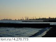 Мариупольский морской порт (2012 год). Стоковое фото, фотограф Анастасия Благая / Фотобанк Лори