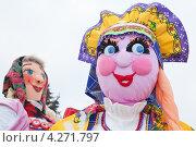 Купить «Празднование широкой масленицы», эксклюзивное фото № 4271797, снято 21 февраля 2012 г. (c) Оксана Гильман / Фотобанк Лори