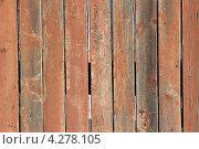 Деревянный забор. Стоковое фото, фотограф Владимир Нестеренко / Фотобанк Лори