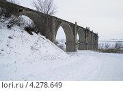 Мокринский мост - былое величие. Стоковое фото, фотограф Евгений Степанов / Фотобанк Лори