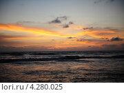 Закат на океане. Стоковое фото, фотограф Екатерина Васенина / Фотобанк Лори