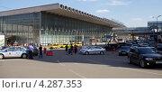 Виды Москвы. Площадь Курского вокзала (2012 год). Редакционное фото, фотограф Яна Королёва / Фотобанк Лори