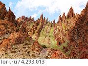 Горы в Ладакх Рандже, Северная Индия. Стоковое фото, фотограф Наталия Давидович / Фотобанк Лори