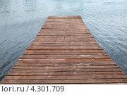 Причал. Стоковое фото, фотограф Никитин Владимир / Фотобанк Лори