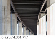 Бетонная перспектива. Стоковое фото, фотограф Никитин Владимир / Фотобанк Лори