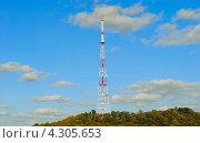 Телевизионная башня на Высоком замке, Львов, Украина (2012 год). Стоковое фото, фотограф eva cuba air / Фотобанк Лори
