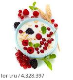 Купить «Здоровый завтрак», фото № 4328397, снято 22 февраля 2013 г. (c) Наталия Кленова / Фотобанк Лори