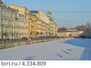 Купить «Река Мойка в Петербурге», эксклюзивное фото № 4334809, снято 24 февраля 2013 г. (c) Александр Алексеев / Фотобанк Лори