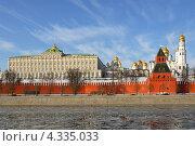 Весеннее настроение. Вид на Кремль и Москву-реку (2013 год). Стоковое фото, фотограф Валерия Попова / Фотобанк Лори