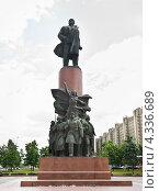 Купить «Памятник В.И.Ленину на Калужской площади», эксклюзивное фото № 4336689, снято 29 мая 2012 г. (c) Алёшина Оксана / Фотобанк Лори