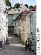 Купить «На улицах Бергена», фото № 4352401, снято 25 июня 2011 г. (c) Ирина Соколова / Фотобанк Лори