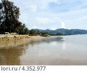 Пляж в Таиланде. Ноябрь (2006 год). Стоковое фото, фотограф Татьяна Давыдова / Фотобанк Лори