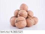 Купить «Горка грецких орехов», фото № 4360521, снято 3 марта 2013 г. (c) Литвяк Игорь / Фотобанк Лори