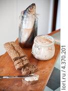 Купить «Домашнее селедочное масло», фото № 4370201, снято 1 марта 2013 г. (c) Екатерина Тимонова / Фотобанк Лори