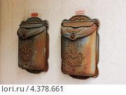Старинные почтовые ящики. Стоковое фото, фотограф Светлана Першенкова / Фотобанк Лори