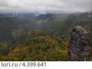"""Горы в национальном парке """"Чешская Швейцария"""" Стоковое фото, фотограф Яна Шпакова / Фотобанк Лори"""