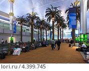 Купить «Международный аэропорт Дубая. ОАЭ», фото № 4399745, снято 23 ноября 2010 г. (c) Юлия Машкова / Фотобанк Лори