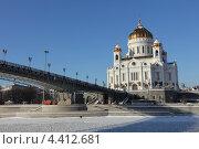 Москва, Храм Христа Спасителя (2013 год). Стоковое фото, фотограф Дмитрий Сушкин / Фотобанк Лори