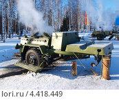 Купить «Армейская полевая кухня», фото № 4418449, снято 12 февраля 2012 г. (c) Евгений Ткачёв / Фотобанк Лори
