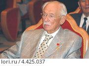 Купить «Писатель Сергей Михалков», фото № 4425037, снято 3 октября 2005 г. (c) Александр С. Курбатов / Фотобанк Лори